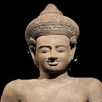 Cambodia Koh Ker statue