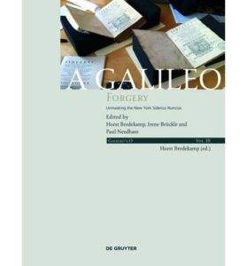 A Galileo Forgery Cover