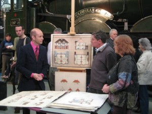The author Marc Allum on Antiques Road Show