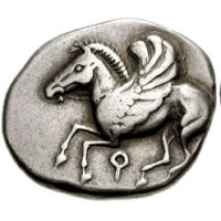 Coin 14 Corinth stater by CNG CC BY-SA
