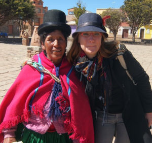 Me and a community leader on fieldwork in Bolivia in 2013. This is at a UNESCO World Heritage Site. The conquest-era church behind us has been robbed three times of sacred art in recent years and none of it has been recovered.