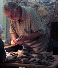 Joseph W. Ball, an archaeologist, excavated the Buenavista Vase