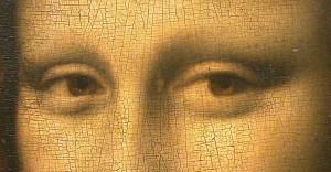 """Italian"" craquelure on the Mona Lisa"