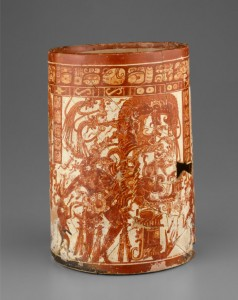 Looted Holmul-style vessel in the Art Institute of Chicago listed as 'vicinity of Naranjo'. True or false?