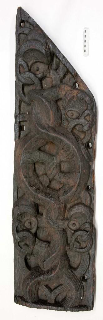 The Ngati Rahiri Taonga found in 1960 and now in Puke Ariki
