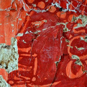 Palenque Mural Red