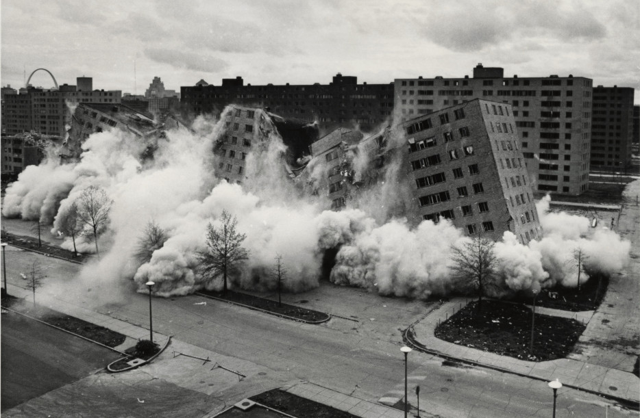 The 'death' of St. Louis' Pruitt-Igoe housing projects