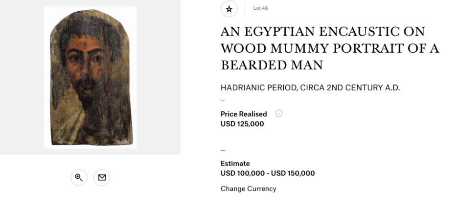 Christies Mummy Portrait 2016 Man