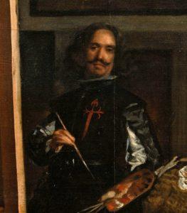 Our amigo Velázquez in Las Meninas, 1656)