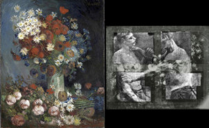 Weird flowers? X-ray Van Gogh Boxers!