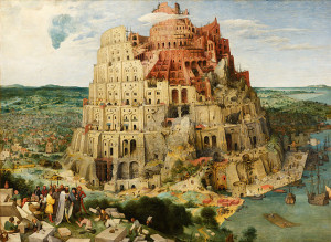 Bruegel's 'Tower of Babel' (1563)
