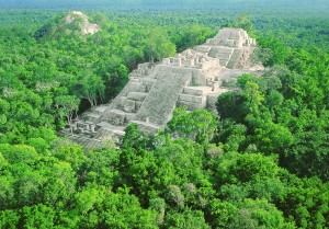 Calakmul, a classic Maya site in Mexico.