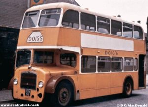 All aboard the Doig bus. NO DOIGES ALLOWED.