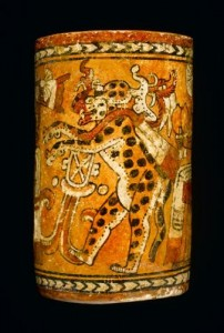 Polychrome vase thought to be from Chamá, now in the NMS
