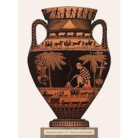 Maori on Greek pot