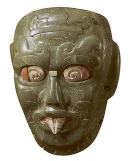 Rio Azul jade mask