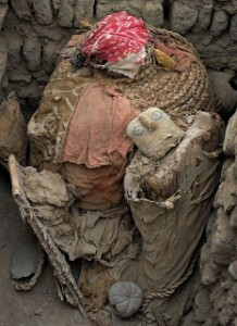 Wari mummy excavated in Peru unlooted