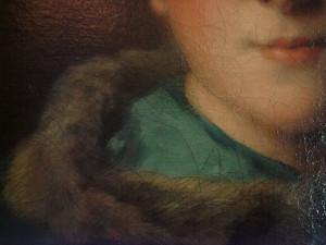 """""""French"""" craquelure on Jean-Marc Nattier's The Comtesse de Tillie"""