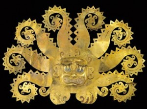 La Mina Moche Gold Headdress