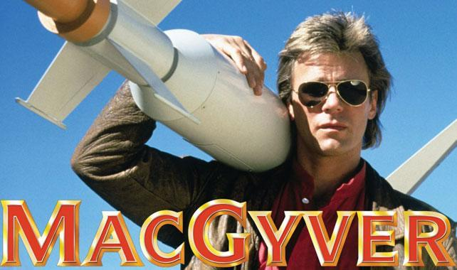 Everything I once believed, shattered with one click of a Netflix play button. MacGyver is terrible.