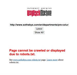 Predictable but still horrible. This is what it looks like when a site can't be crawled.