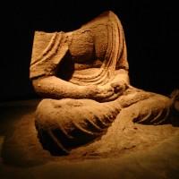 Tasmania sand Buddha at MONA