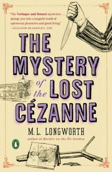 The Mystery of the Lost Cézanne Cover