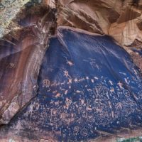 Petroglyphs at Bear Ears by Tim D Peterson